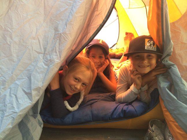 Santa Cruz Montessori Elementary Camping Trip
