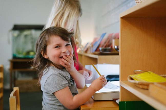 Santa Cruz Montessori Primary - Preschool and Kindergarten