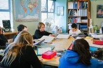 Santa Cruz Montessori Wavecrest Humanities Class