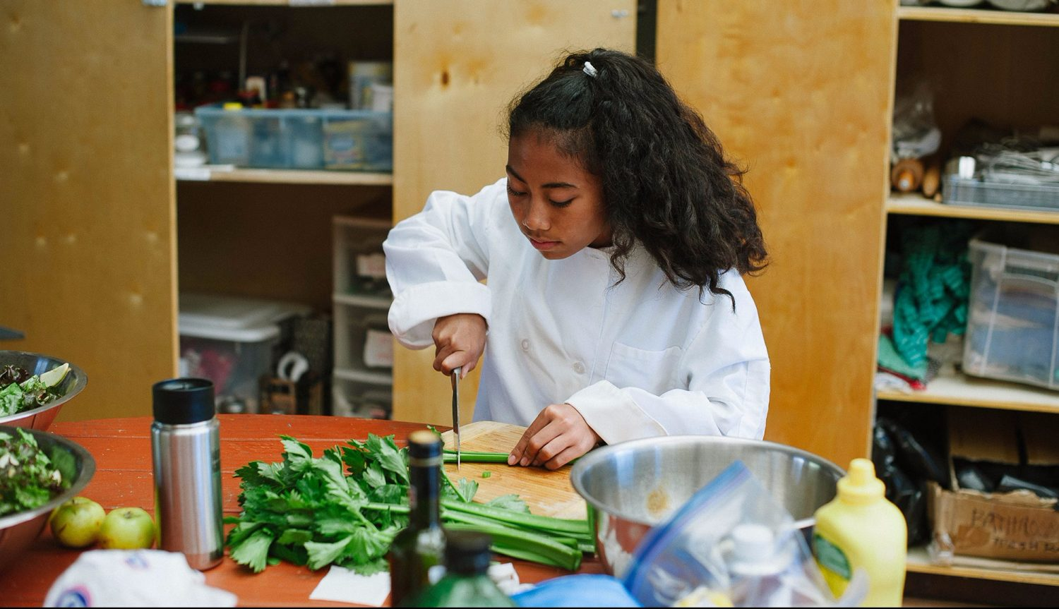 Santa Cruz Montessori Wavecrest Jr High Cooking