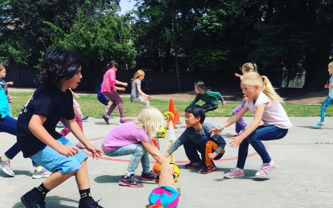 Santa Cruz Montessori Elementary Sports